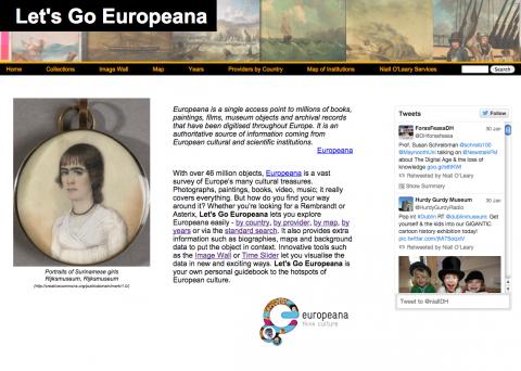 Let's Go Europeana!